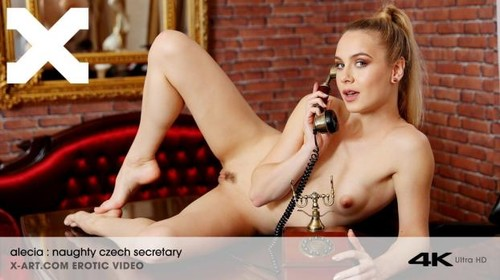 Alecia Fox - Naughty Czech Secretary (SD)