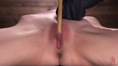 Andi Rye - Newbie Andi Rye Proves To Be A Squirting Pain Slut - BDSM, Bondage, Bound