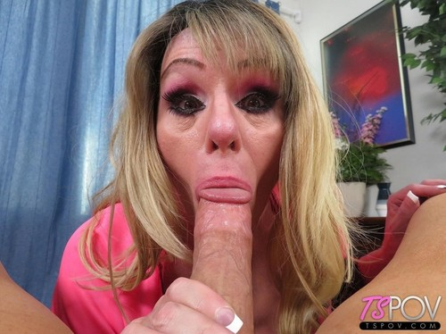 Trans Milf Sucks Cock And Eats Some Ass [FullHD]