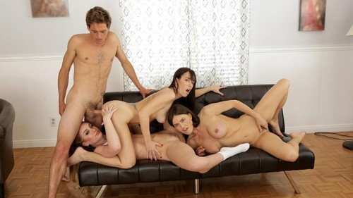 Threesome Company Lovers And Friends [HD]