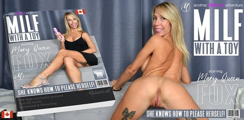 Hot Milf Mary-Queen Fox Loves Playing With Her Toy [HD]