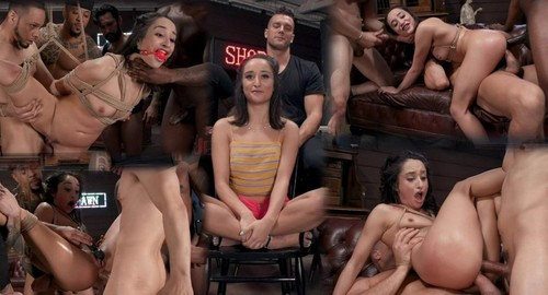 Gang Bang Pawn Shop Isabella Nice Pays Off Debt With All Her Holes [HD]