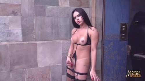 Franks-TGirl - Fernanda Surely Loves To Cum 3 December 2019 - Trans, Shemale Porn Video