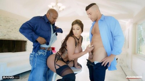 Bridgette B Gets Her Holes Drilled By Two Dicks [FullHD]