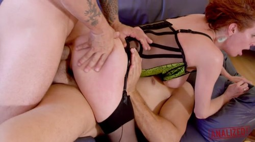 Veronica Avluv - Double Anal Punishment 480p