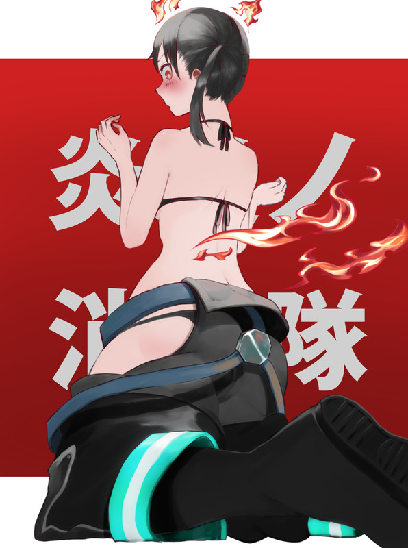 Fire Force Hentai Collection (100 Lewd Artwork) 91 - Hentai Arena