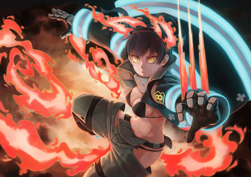 Fire Force Hentai Collection (100 Lewd Artwork) 32 - Hentai Arena