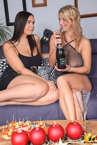 New Year Party With Sofia Lee [FullHD]