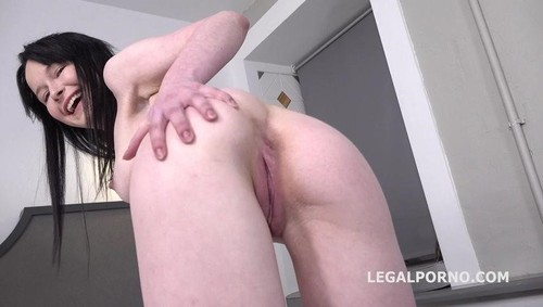 Sweetie Plum, Mr Anderson - Mr. Anderson Anal Casting, Sweetie Plum First Time Anal With Farts, Gapes, And Cum In Mouth Gl106 [SD]
