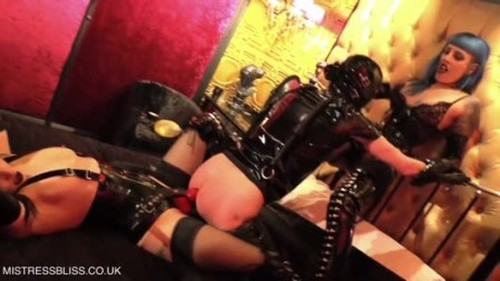 Mistress Bliss - Boudoir Buggery with Cybill Troy - Worship, Mistress, Femdom Porn