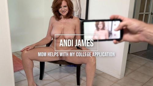 Andi James - In Mom Helps With My College Application