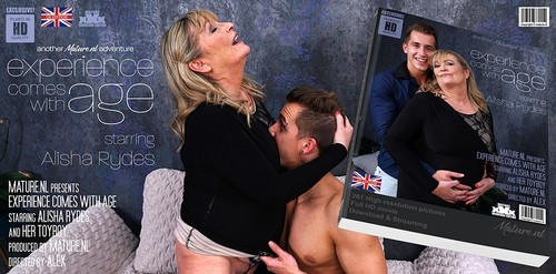 Alisha Rydes EU 59 - She Licks The Cum From Her Toyboy Straight From Her Big Tits