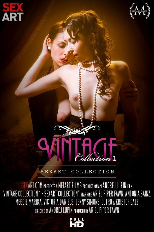 Antonia Sainz & Ariel Piper Fawn & Jenny Simons & Meggie Marika & Victoria Daniels & Kristof Cale & Lutro -  SexArt Collection - Vintage Collection 1 (Jun 07, 2020)