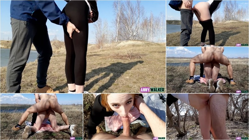 Anny Walker - Amateur Sex on the Beach. People Noticed us [FullHD 1080P]