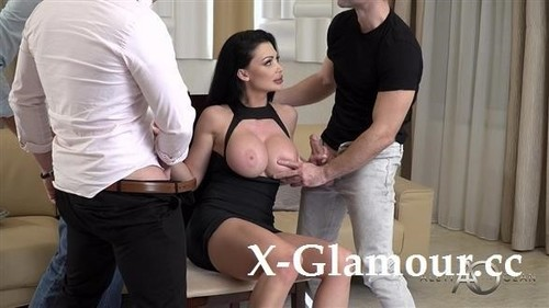 Huge Boobs Milf And Three Hard Dongs [FullHD]