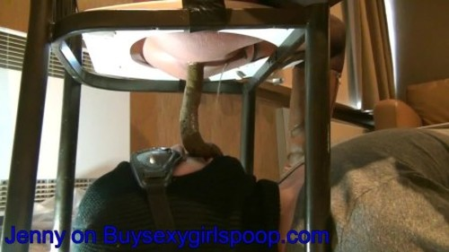 Jenny have made a toiletslave experience for a customer - Femdom Scat, Domination Scat