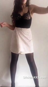 Girls on tiktok masturbate on kitchen - Tiktok Porn Videos