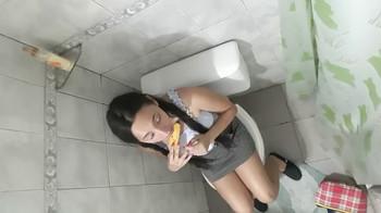Lillysins gags on a dildo - Tiktok Porn Videos