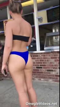Tiktok Booty Belle Enjoying White Boner POV - Tiktok Porn Videos