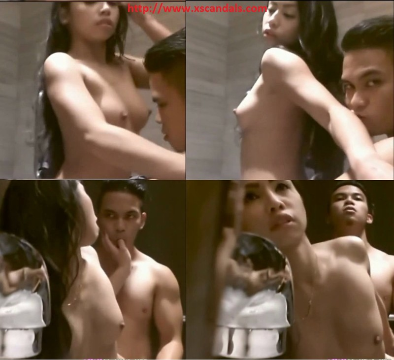 Singapore football player _Lach X_ and the best young model girlfriend leaked sextape scandal