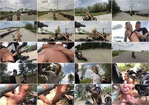 owiaks - Best Public Flashing, Sex, Blowjob with Cum Swallow, Naked on Motorcycle [Manyvids] 2020