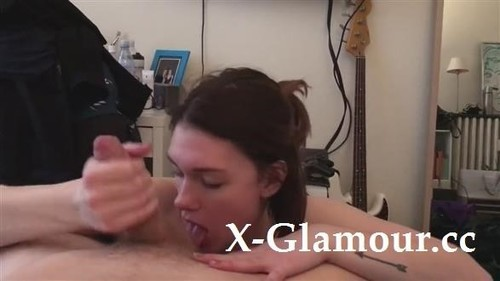 After A Blowjob She Will Get Covered With Cum [HD]