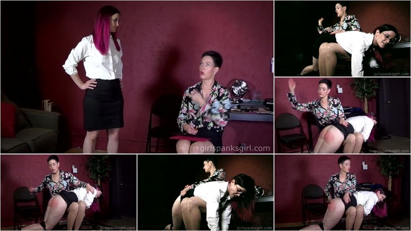Stormy Squires - Promotion From Spanking Part 3 [FullHD 1080p]