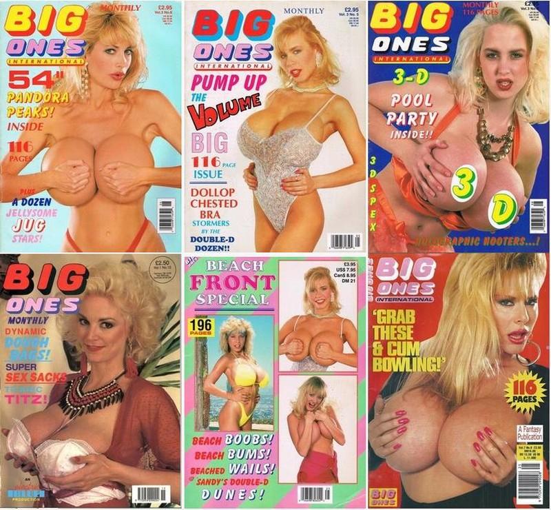 14 Magazines - Big Ones (1990s) JPG / PD