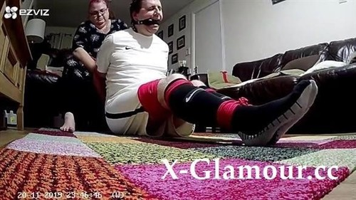 Footballer Bound And Gagged [HD]