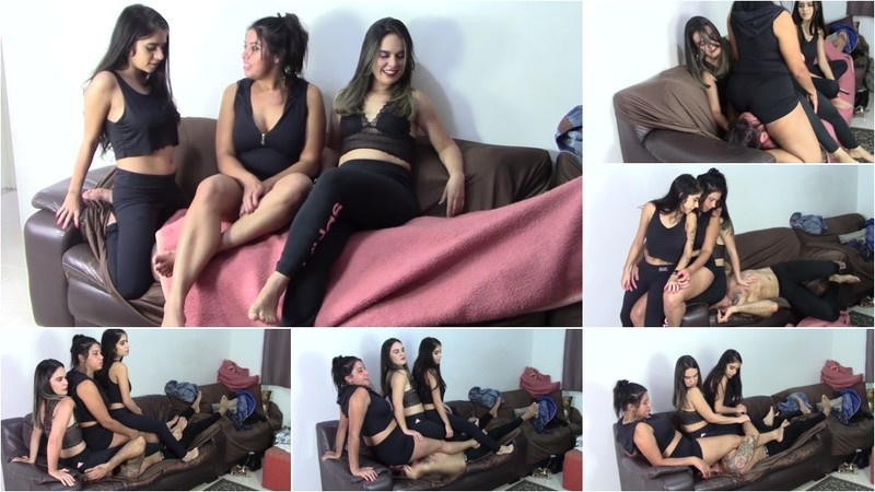 Buried Under 3 Cruel Butts In My Hard Sofa - By Scarlet White, Doroty Lindty And Sara Rosa - Full Version [FullHD 1080P]