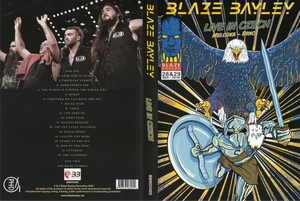 Blaze Bayley (ex-Iron Maiden) - Live in Czech (2020) [2xDVD5]