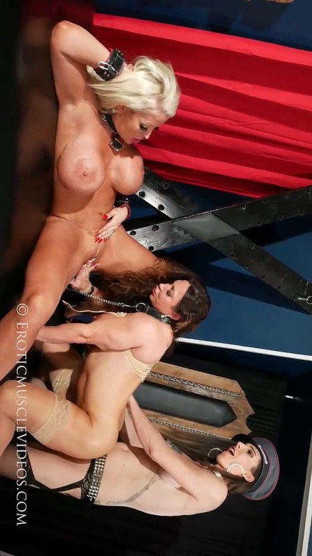 Melanie Brooks, Brandi Mae & Allura The Dominate Dick!