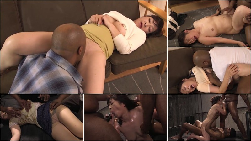 Kitamura Toshiyo - Huge Black Mara Raped Japanese MILF Homestay Black Man Takes Revenge Ling [HD 720p]