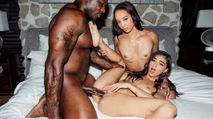 (Blacked) - Peach (Ella es todo dulzura) - Emily Willis, Alexis Tae & Rob Piper [22-08-2020]