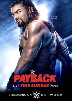 Poster for 2020 WWE Payback Revealed
