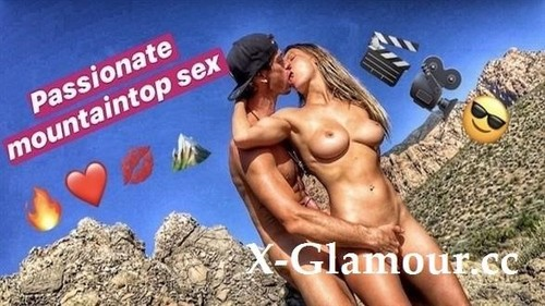 Hot Blonde And Hot Guy Hookup On A Mountain! [FullHD]