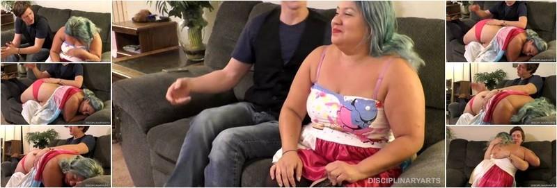 Sandra - Panty Spanking: Sandra (FullHD)