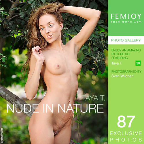 Taya T - Nude in nature (x87)