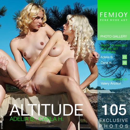 Carla H & Adelia B - Altitude (x105)