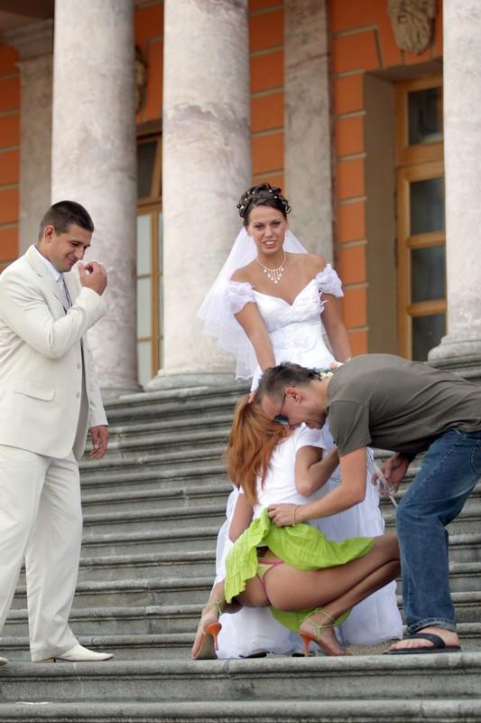bridesmaid upskirt