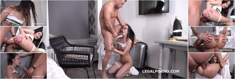 Liloo - Mr. Anderson Anal Casting with Liloo first time anal (HD)