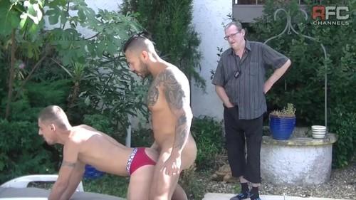 RawFuckClub - Nick Spears Fucked Bareback By Viktor Rom & Perver Guy (Sep 24)