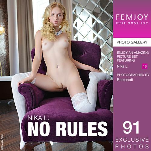 Nika L - No rules (x91)