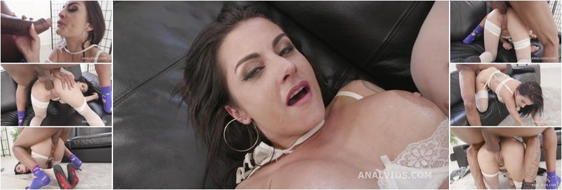 Bianka Blue - Balls Deep BBC Edition Bianka Blue gets Dylan Brown up her ass for Balls Deep Fucking, Gapes and Swallow (HD)