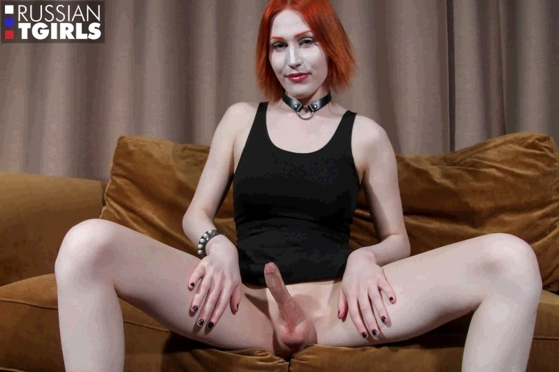 [Russian-Tgirls] Lalola - Lalola Got Cum! [HD, 1080p]