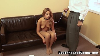 Doctor brainwashes and subdues the patient