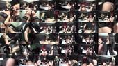 Strapon Gangbang by 3 Dommes - 1 - Mistress Kelly Kalashnik, Lady Fabiola Fatale, Dominatrix Dinah
