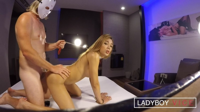 [LadyboyVice] Fix Strawberry Blonde Hardcore Debut [HD, 1080p]