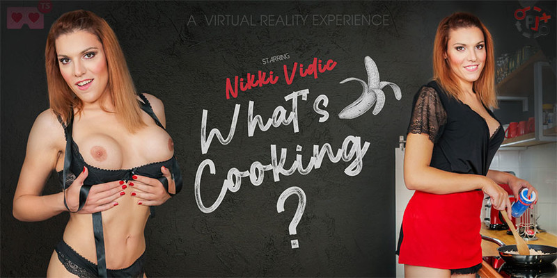 [TSVirtualLovers] Nikki Vidic - Cocky Cook [Virtual Reality, VR, 4K, 1920p]