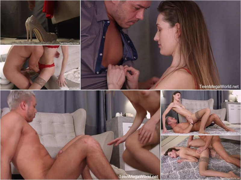 TeenSexMovs - Alisha Brendy - Lady In Stockings Rides A Dick [FullHD 1080p]